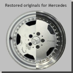 Restored originals for Mercedes